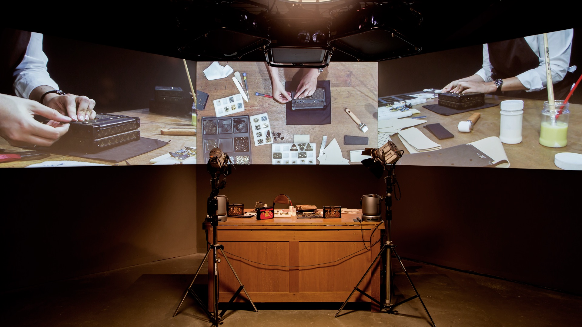 Luke Halls Studio — Louis Vuitton Series 3 Exhibition, London