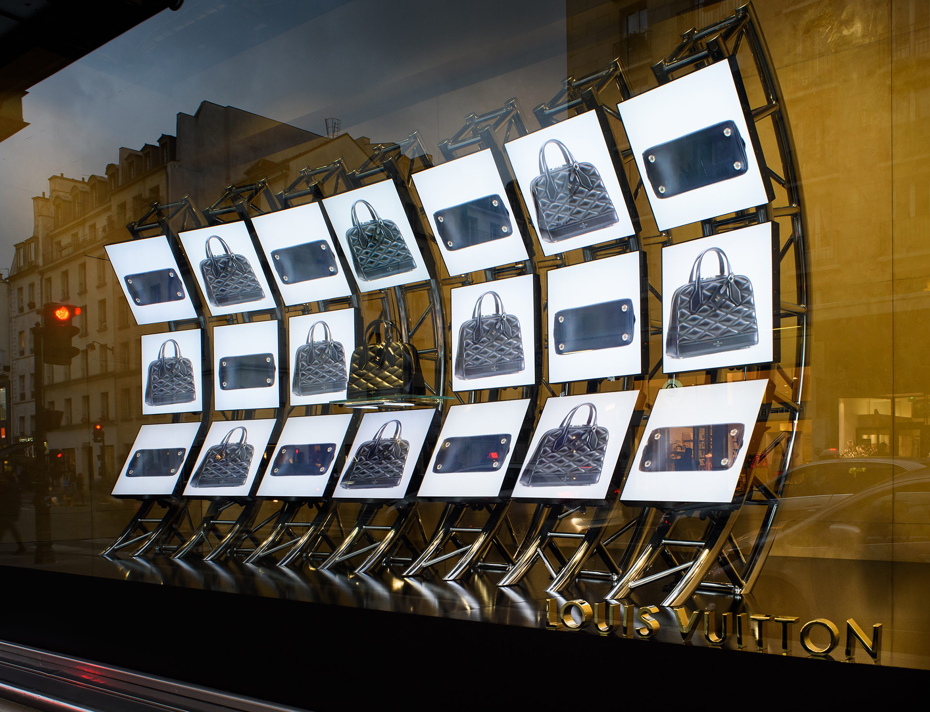 Luke Halls Studio — Louis Vuitton, Bonmarche Rive Gauche