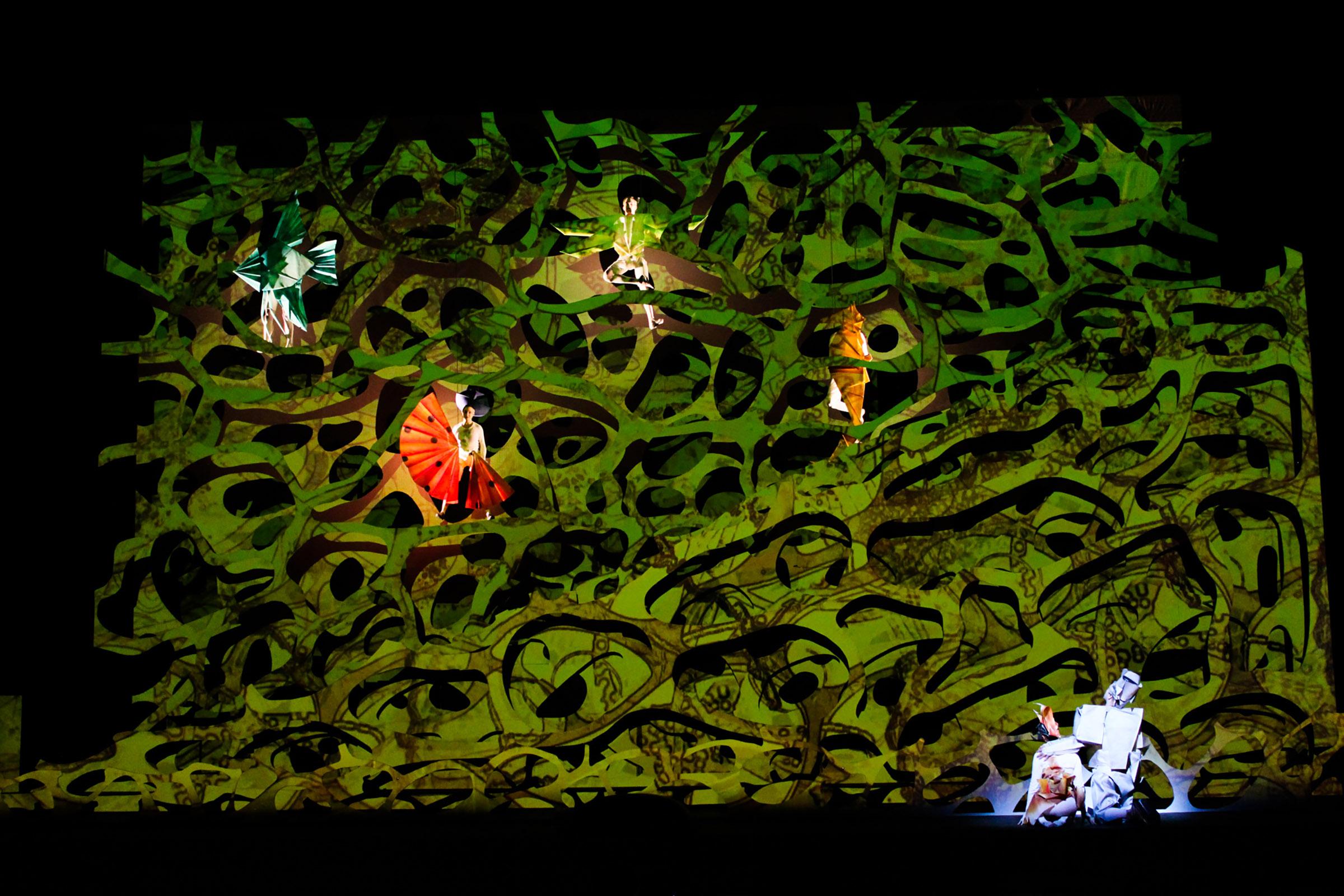 Luke Halls Studio — Cunning Little Vixen, Royal Danish Opera