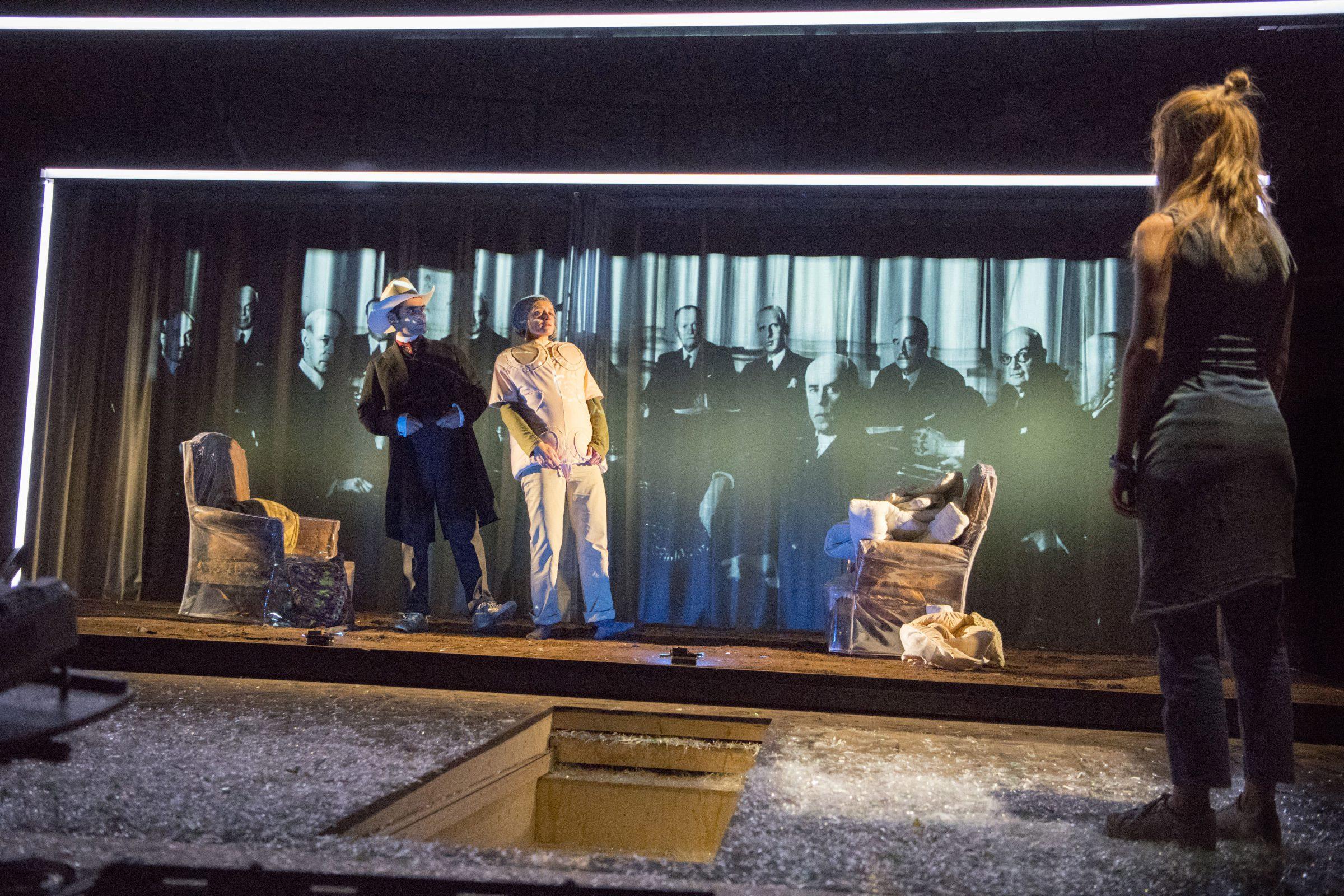Luke Halls Studio — Oil, Almeida Theatre