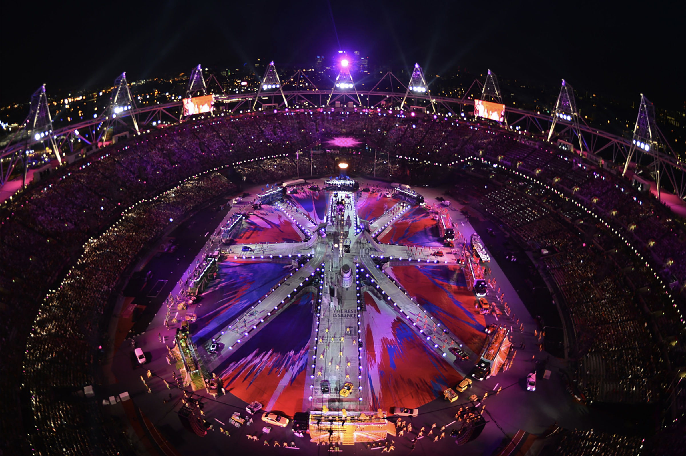 Luke Halls Studio — London Olympics Closing Ceremony 2012