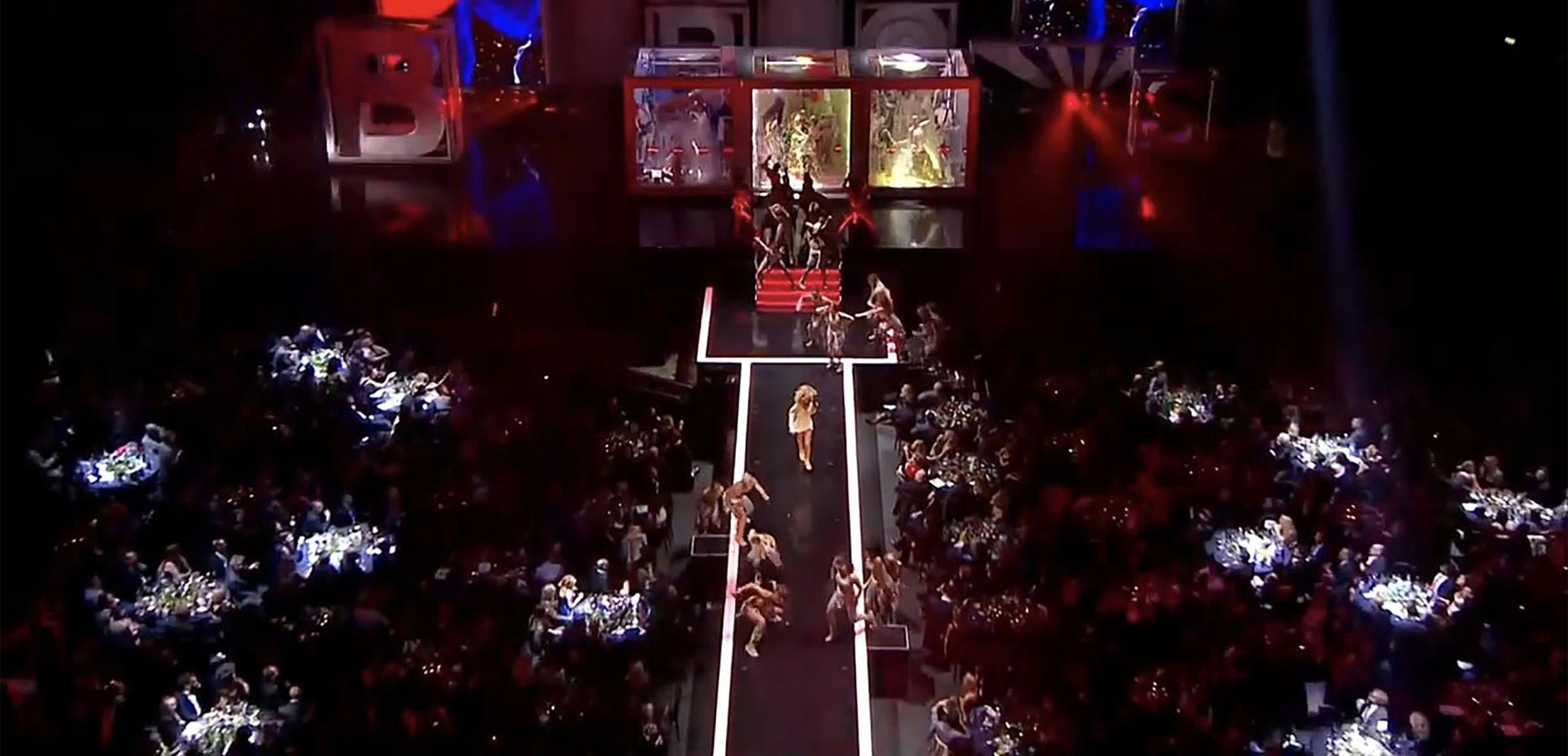 Luke Halls Studio — Rihanna, Brit Awards 2012