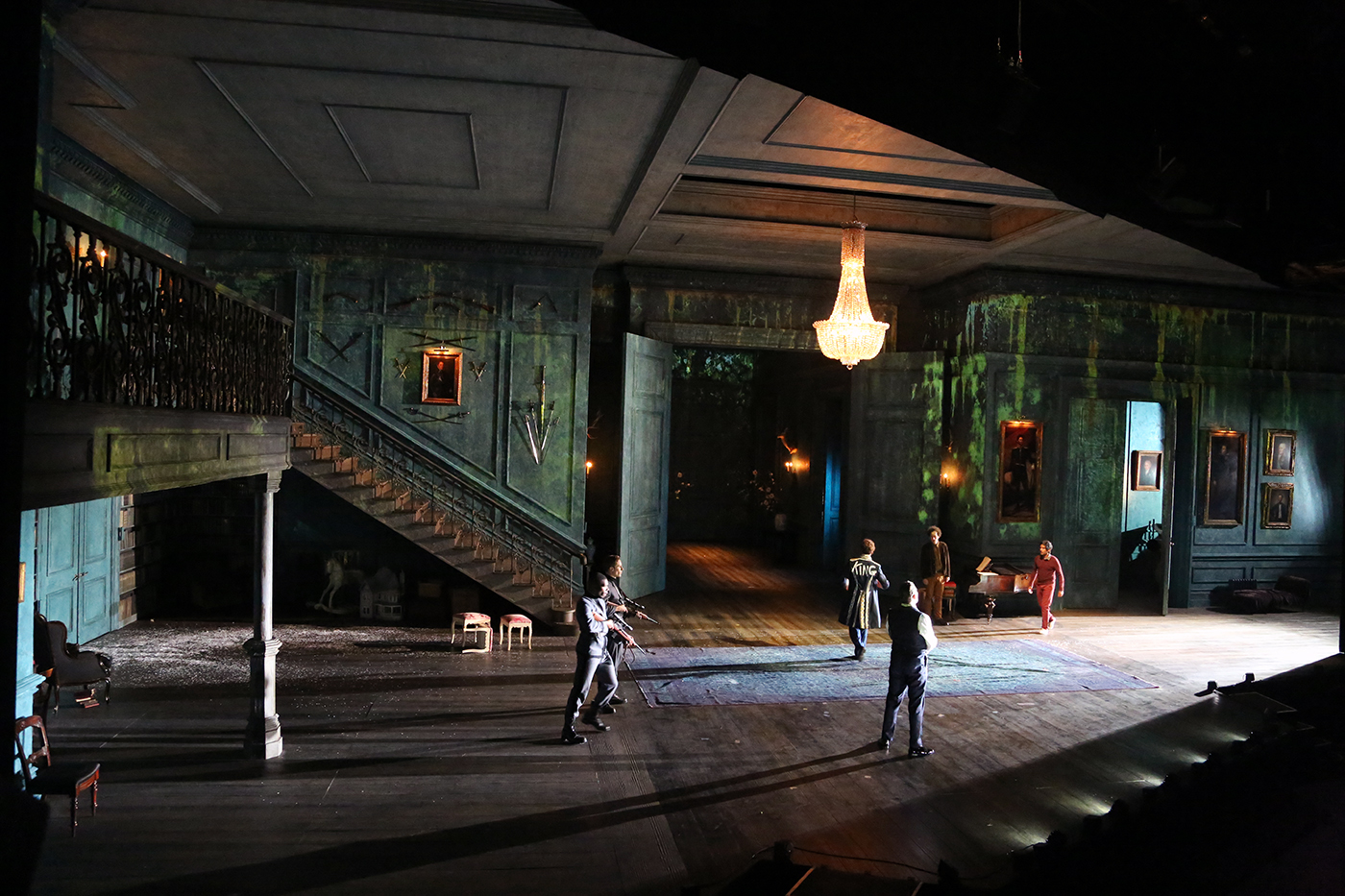 Luke Halls Studio — Hamlet, Barbican Theatre