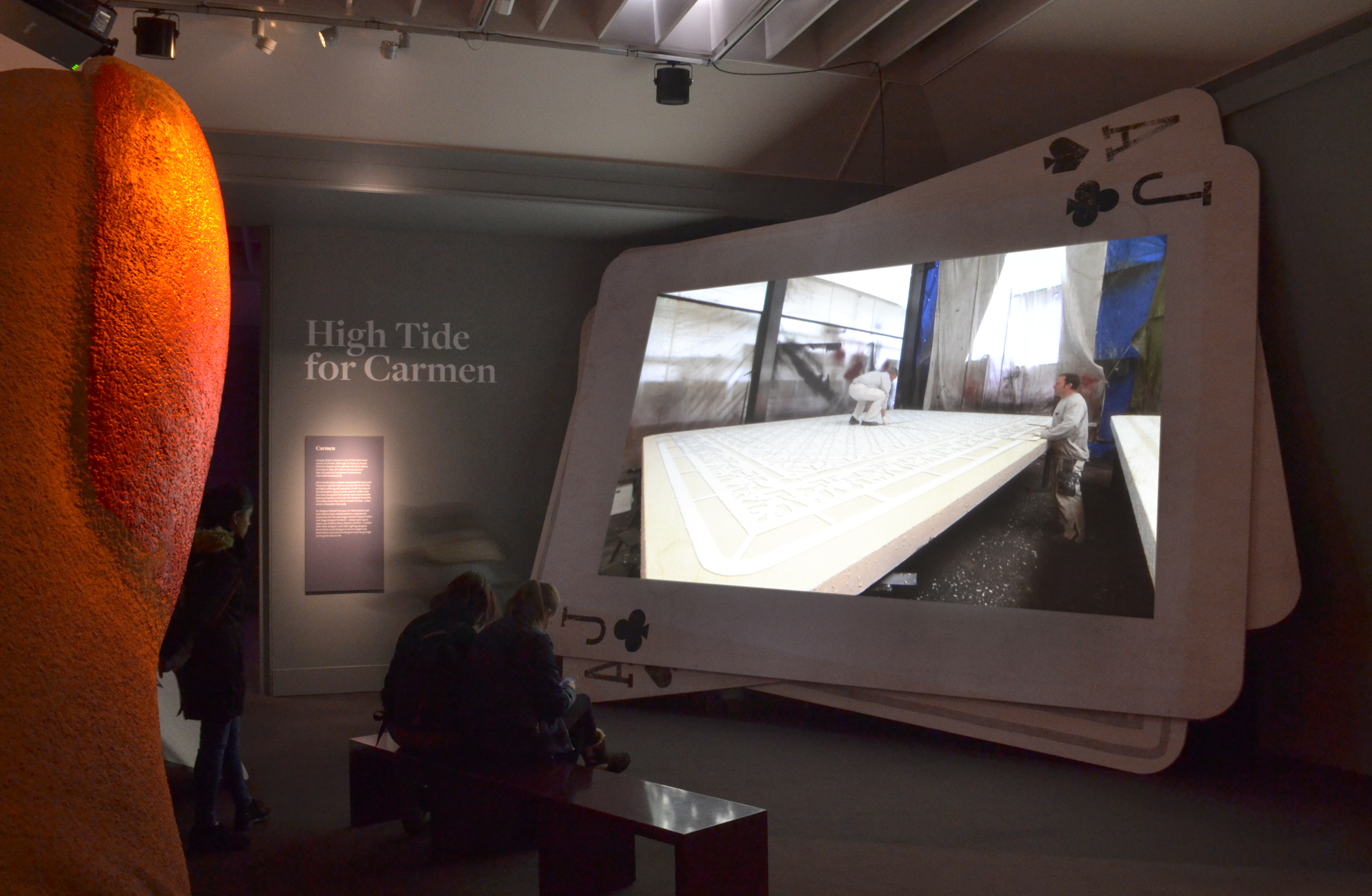 Luke Halls Studio — High Tide for Carmen V&A
