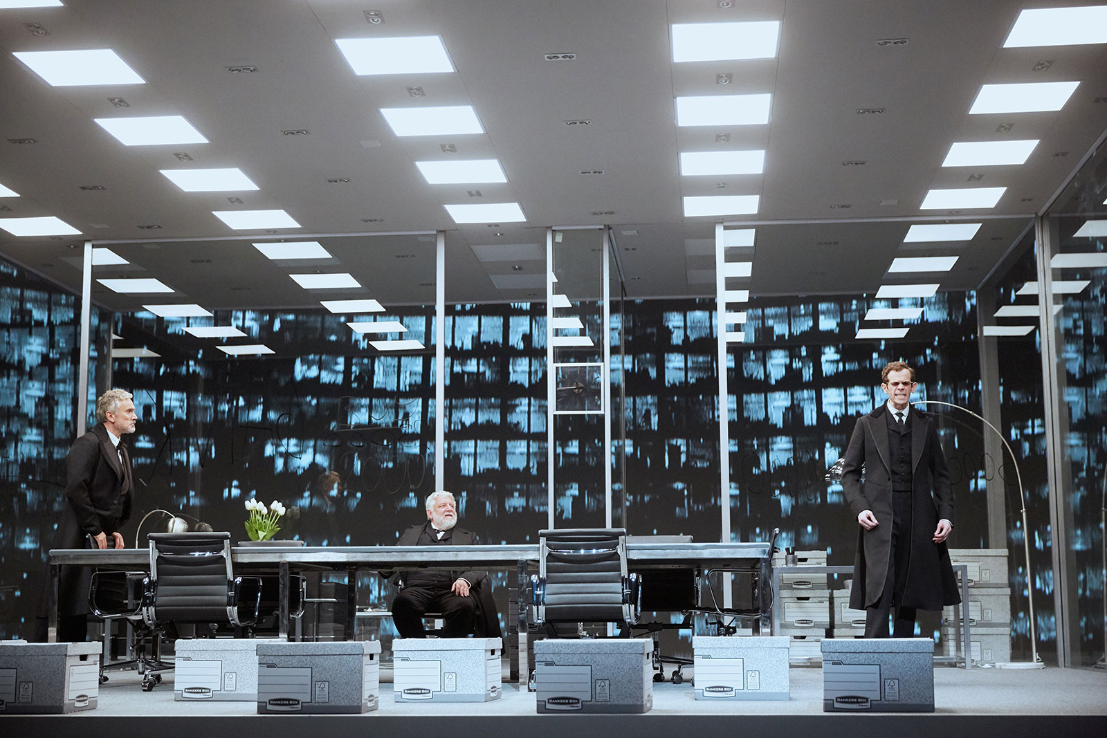 Luke Halls Studio — The Lehman Trilogy