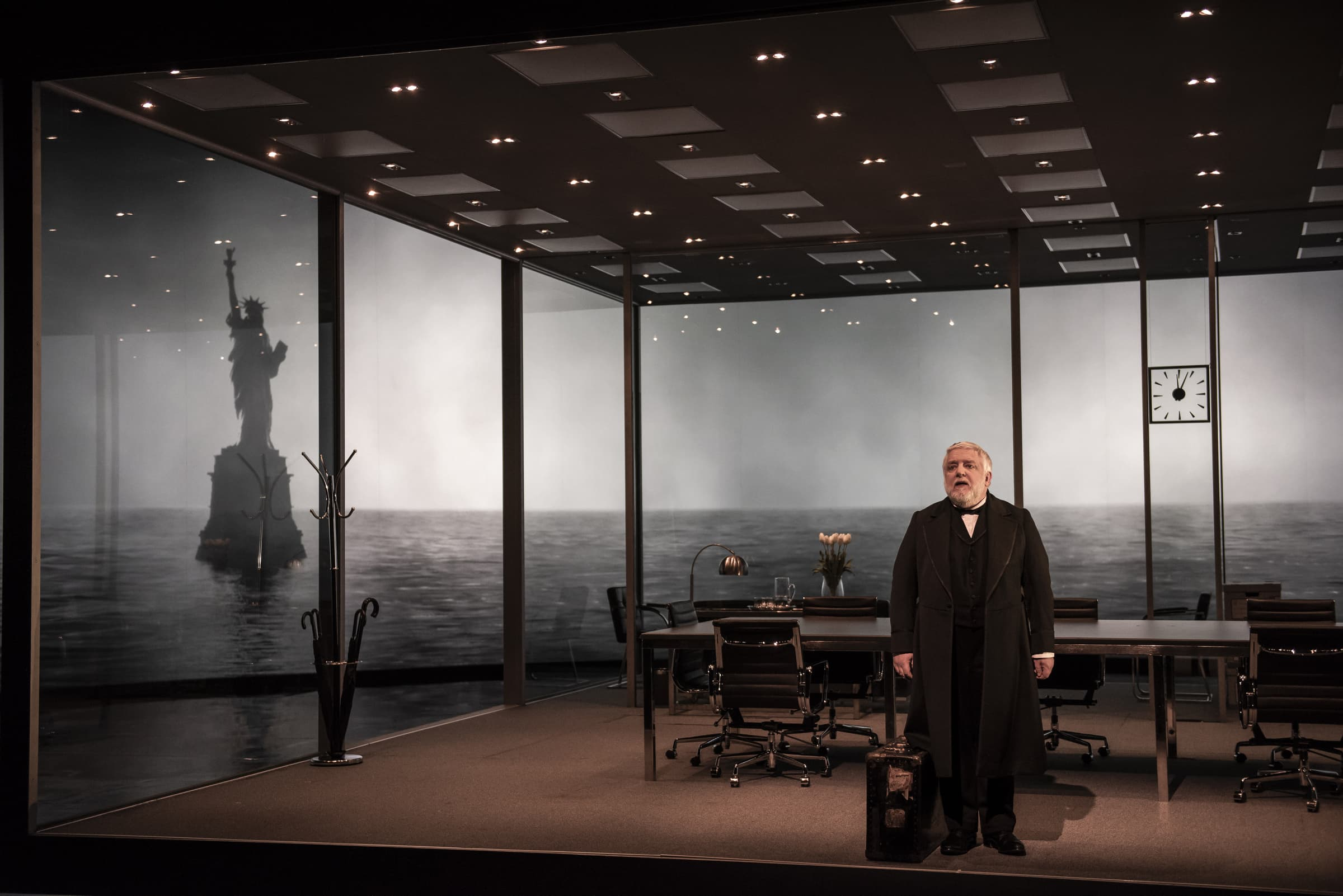 Luke Halls Studio — The Lehman Trilogy NYC