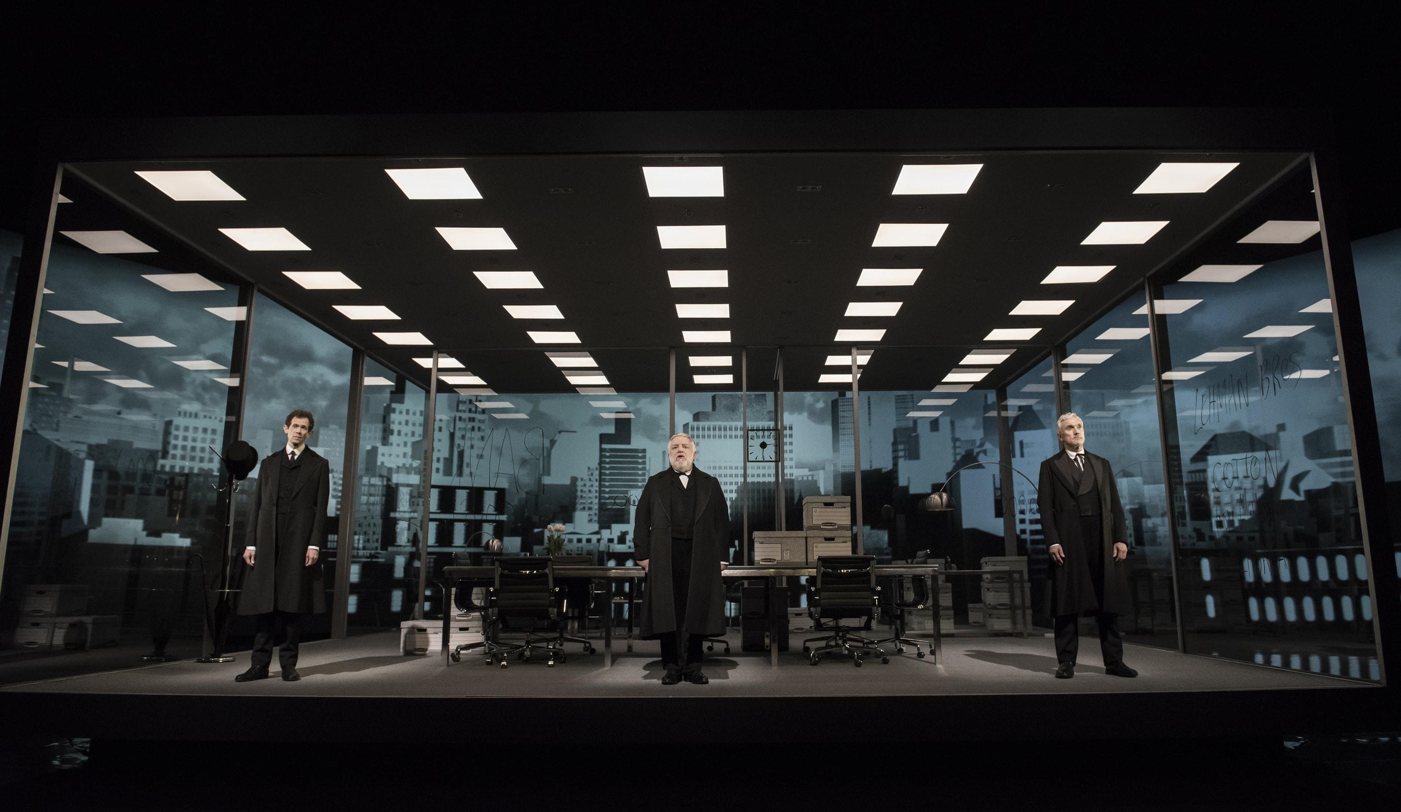 Luke Halls Studio — The Lehman Trilogy NYC