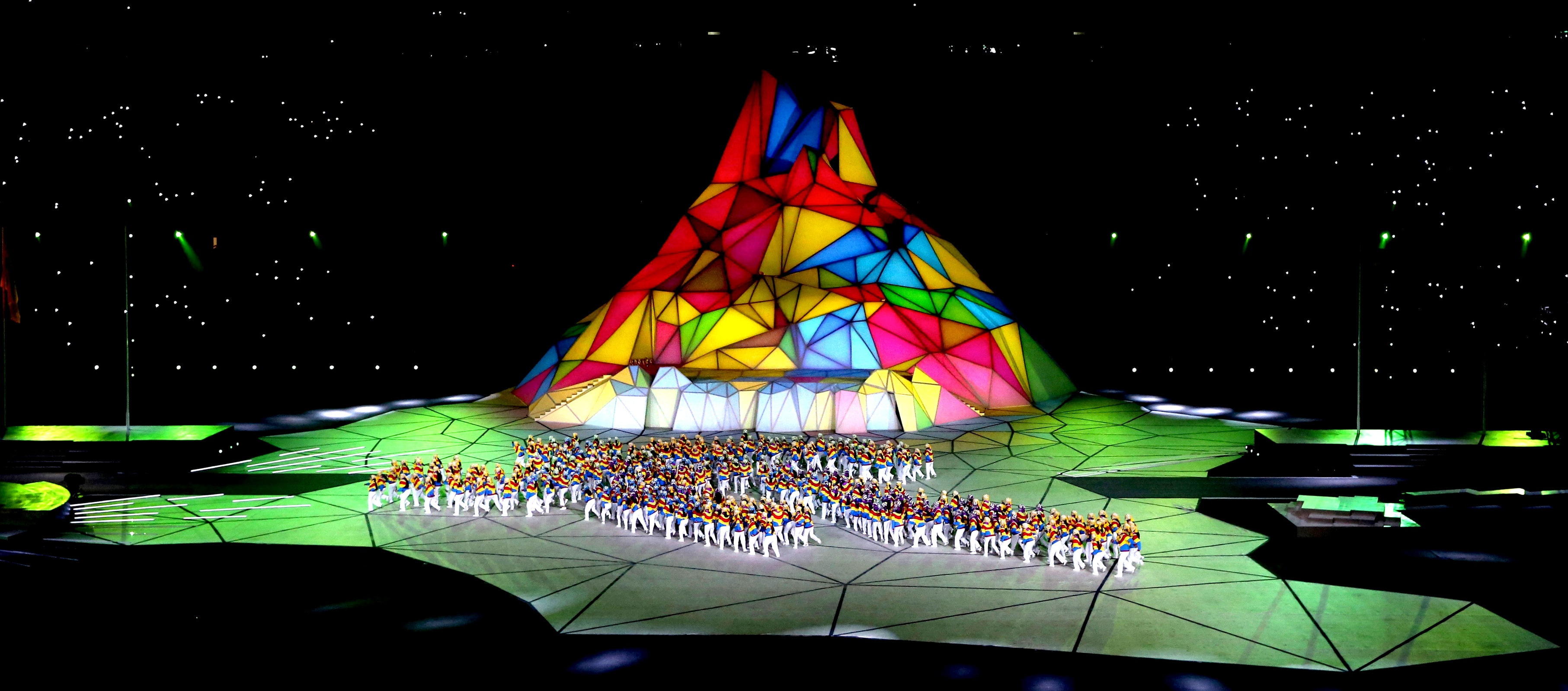 Luke Halls Studio — Pan American Games Opening Ceremony