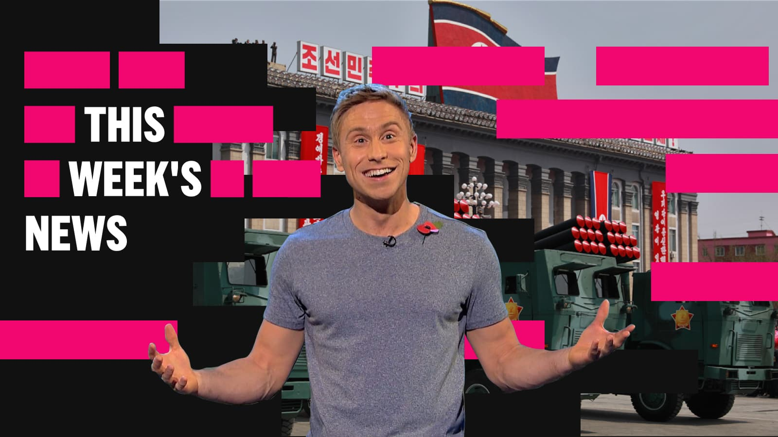 Luke Halls Studio — The Russell Howard Hour